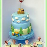 1st Birthday Cake for my son