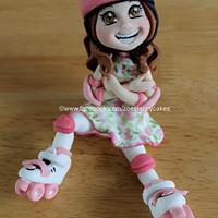 Rollerskate girl no 2