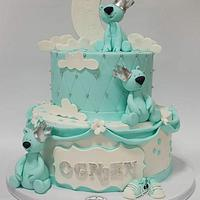 Teddy Cake for 1st birthday