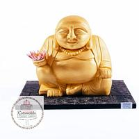 The Gold Laughing Buddha