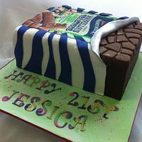 Jessica's 21st Cake