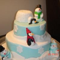 Winter Fun Cake