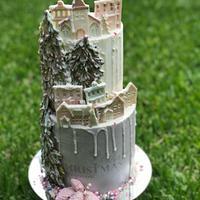 Navidad pastel