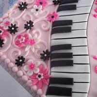 pink and piano