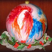 """Christmas tree toy """"the year of the rooster"""""""