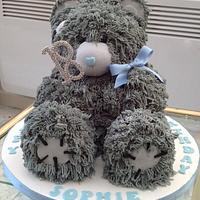 Me To You Bear 18th Birthday cake