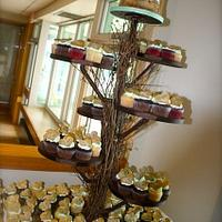 Tree Stump and Cupcake Tree by Stacy Lint