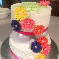 Spring Vow Renewal Cake