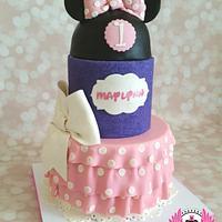 A Very Minnie First Birthday