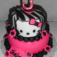 Hello Kitty Birthday Cake :)