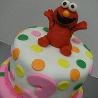 Elmo!! by Evelyn Vargas