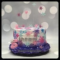 Buttercream Frozen Cake