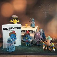 Dr Who Mr Men cake
