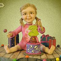 Transylvanian Birthday Party by Adelina Baicu Cake Artist