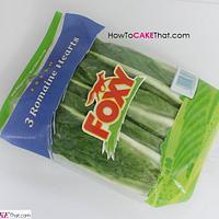 Bag of Foxy Romaine Lettuce Cake