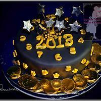 Happy 2013 Cake