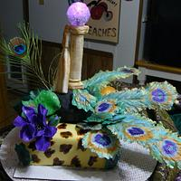 FUNKY CAKE  by gail