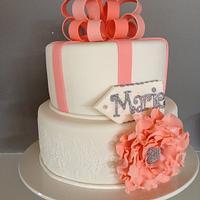 Miss Marie's 18th Birthday Cake & Cookies