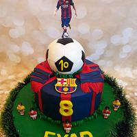 Fcb cake by Meroosweets