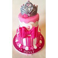 Princess themed birthday cake!