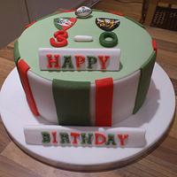 Leicester Tigers Cakes
