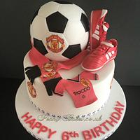 The Football Boots Cake!