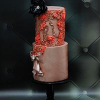 Wedding Cake Inspired By Fashion A Worldwide Collaboration