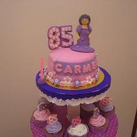 GRANNY CAKE by kylieskeyk