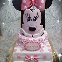 Minnie narodeninová torta