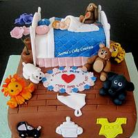 Pink or Blue!!! Baby Shower Cake!