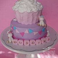 Sweet unicorn cake