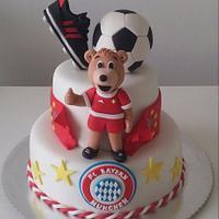 FC Bayern Munchen Cake