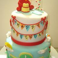Elmo First Birthday
