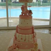 A sweet carillon for christening