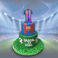 Football T-Cake