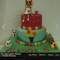 Lalaloopsy cake by Louise Hayes