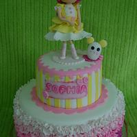 Lalaloopsy cake by DeliciasGloria