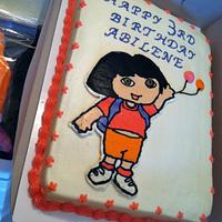 Dora Cake by Bridget