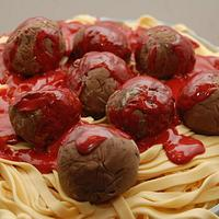 Pasta & Meatballs Anyone?  by It's a Cake Thing