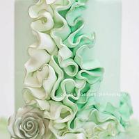St. Patrick's ruffles by Mili by milissweets