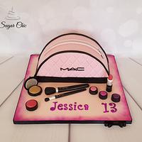 MAC Make-Up Case Cake