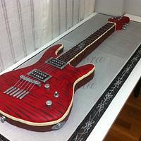 Tarta Réplica Guitarra Eléctrica (Yamaha rgx520fz)