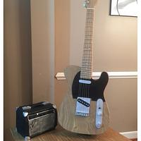 Bruce Springsteen Guitar Cake
