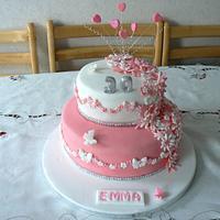 Emma's 30th Birthday cake