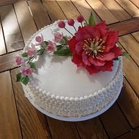 Birthday cake for her