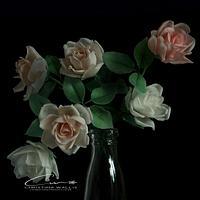 Roses, Cold Porcelain