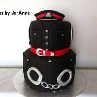Police Officer Retires by Cakes by Jo-Anne