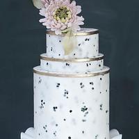 Granite Cake Texture and Mums