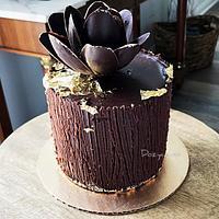 Chocolate Flower Cake