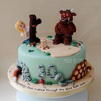 The Gruffalo & Lyndsey!